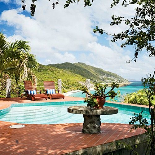 Moonhole Bequia View from Patio