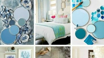 Paint Color Schemes Beach Inspired