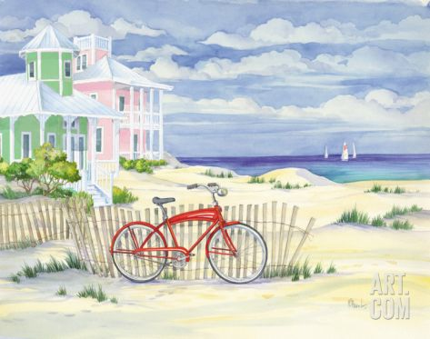 Seaside Art Cruiser by Paul Brent