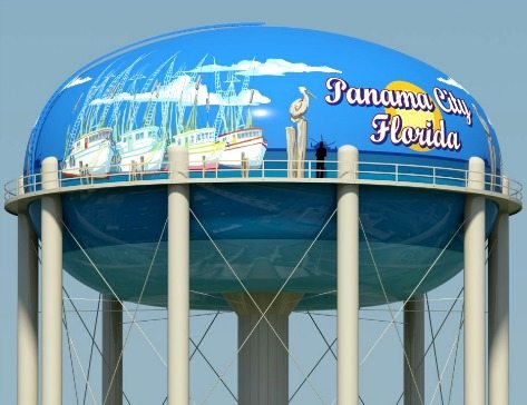 Water Tower Design Panama City Florida by Paul Brent
