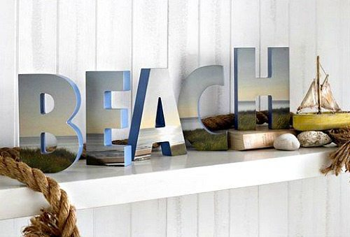 Beach Letters