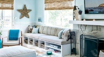The Perfect Marriage -Light Blue & Natural Beachy Materials