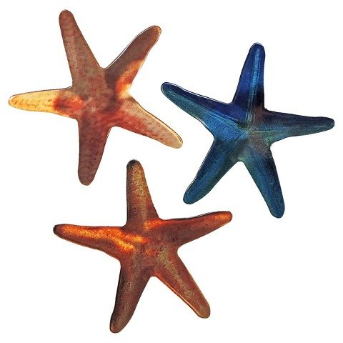 3 D Wall Art Outdoor Decor Starfish