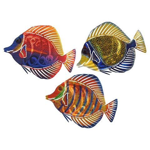 Angel Fish Outdoor Wall Decor