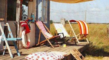 Extremely Rustic Shabby Chic Beach Cottage