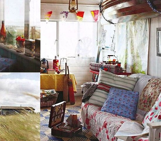 Old Beach Cottage Shack Interiors