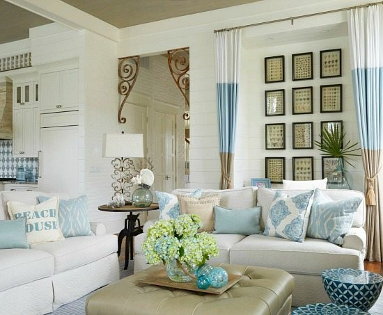 Elegant Home That Abounds With Beach House Decor Ideas Beach Bliss