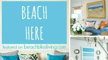 Inspiring Beach Wall Decor Ideas for the Space above the Sofa
