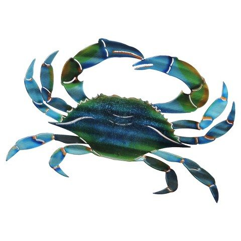 Crab Wall Decor for Outdoor