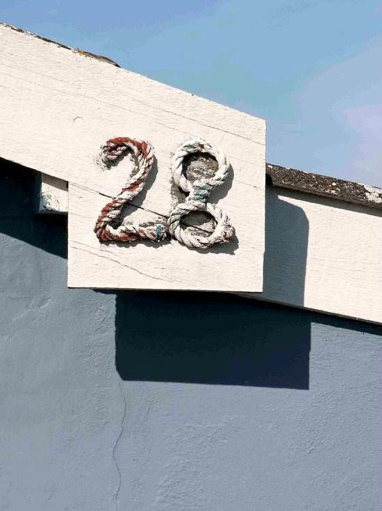 Extremely rustic shabby chic beach cottage beach bliss for Bungalow house numbers