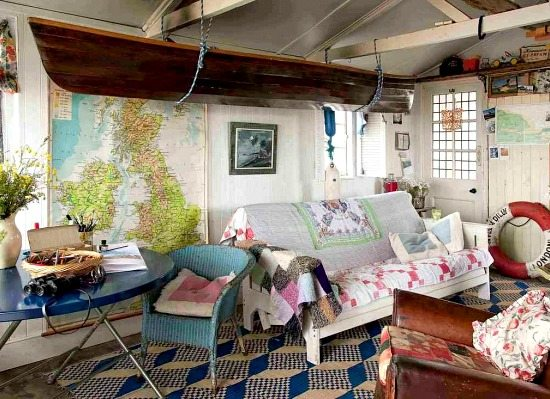 Shabby Chic Nautical Cottage by the Beach