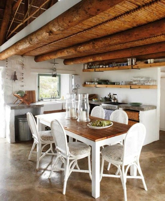 Beach Cottage Country Kitchen