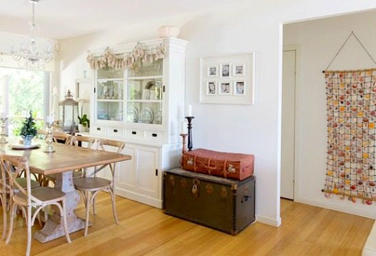 Beach and Travel Theme Dining Room