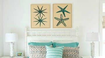 Beach Home Art Ideas