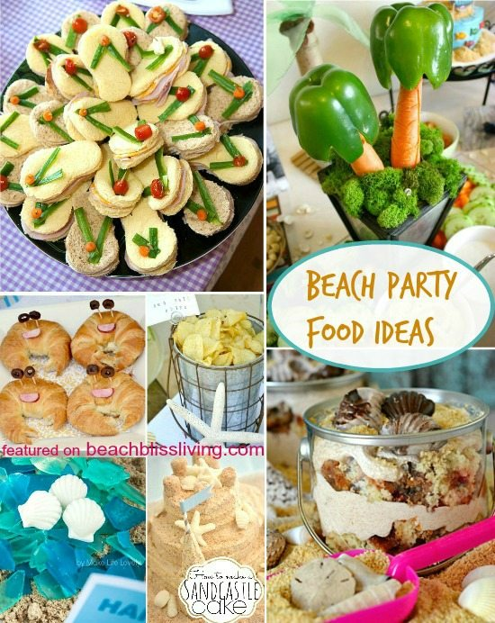Surfer Party Food Ideas