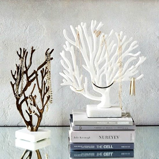 Coral Jewelry Holder