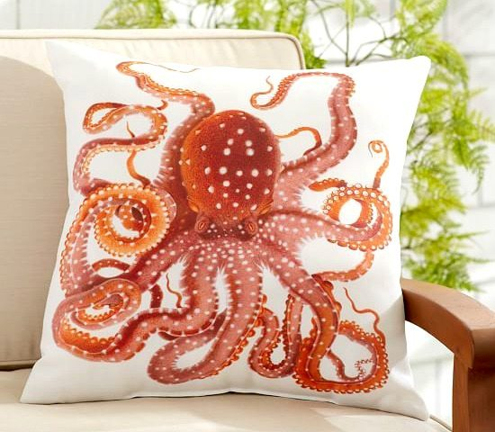 Outdoor Pillow Octopus