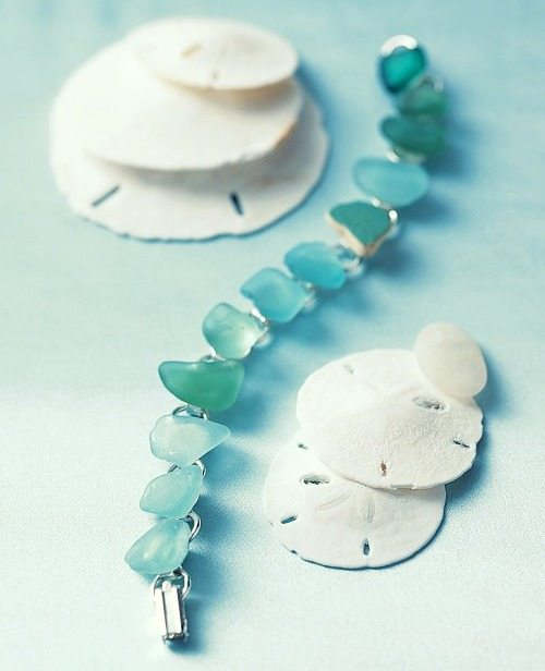 DIY Sea Glass Bracelet