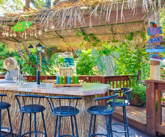 Tiki Bar for the Backyard