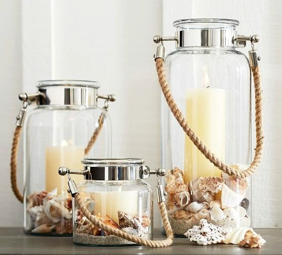 Hyannis Lanterns from Pottery Barn