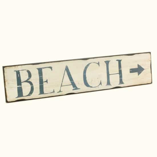 Beach Sign by Sur La Table