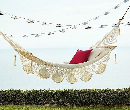Handwoven Hammock from Pottery Barn