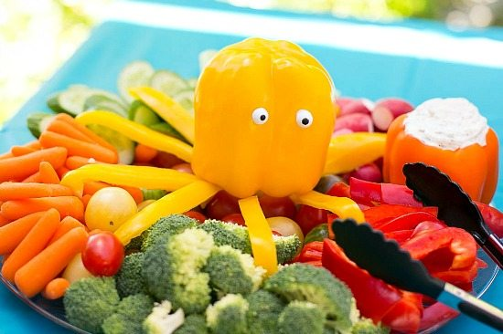 Pepper Octopus Under the Sea Party