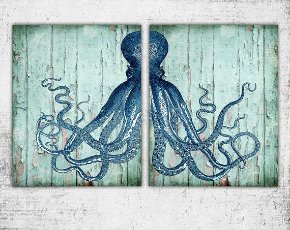 octopus bathroom decor octopus bathroom decor awesome ideas