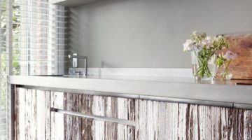 Create a True Beach Feel to your Kitchen and home with Driftwood Cabinets