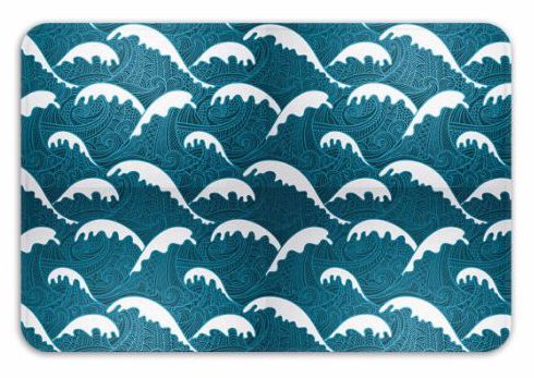Memory Foam Nautical Bath Mats