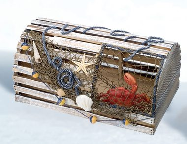10 Decorative Lobster Trap Ideas for your Beach House - Beach Bliss Living - Decorating and ...