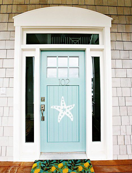 starfish at 102 front door