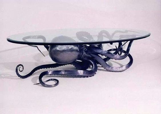 octupus base coffee table