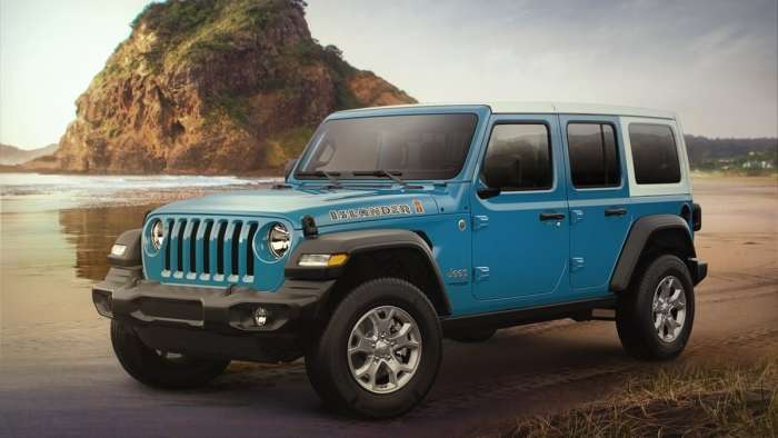 Designed for driving in a beach town, this jeep has everything you need and more