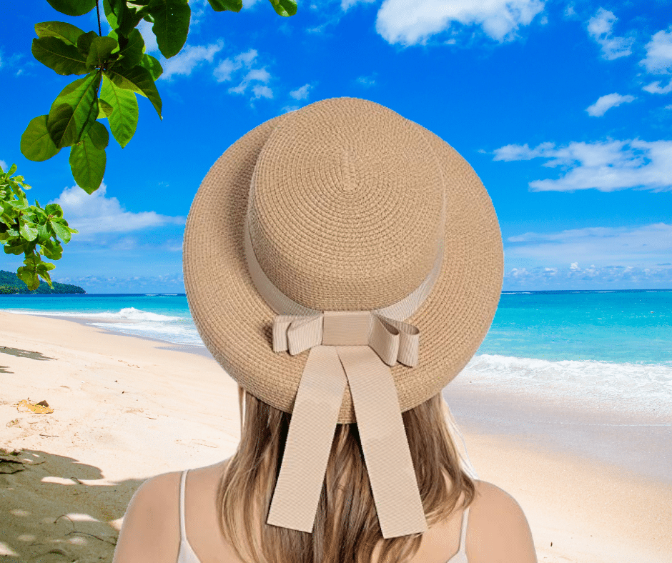 Wear a classic bucket hat as you enjoy a holiday of soft sand, warm sun, and tranquillity.