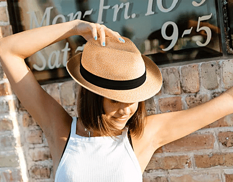Rock a Fedora this summer with one from the Furtalk collection