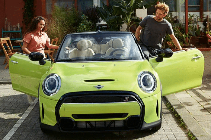 The mini Cooper Convertible has been classed as the 2021 Intellichoice Best Overall Value Winner